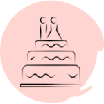 Forfait vidéo mariage gâteau des mariés